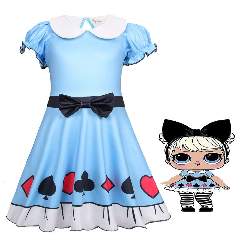 Hot Kids LoL Surprise Doll Girls Princess Dress Party Pageant Holiday festival