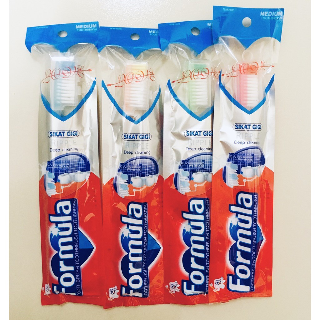 Formula Silver Toothbrush Multi-Care Anti-Bacterial Toothbrush