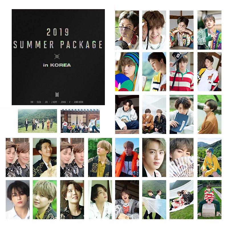 Kpop Bts 2019 Summer Package In Korea Lomo Card Photocards 30pcs