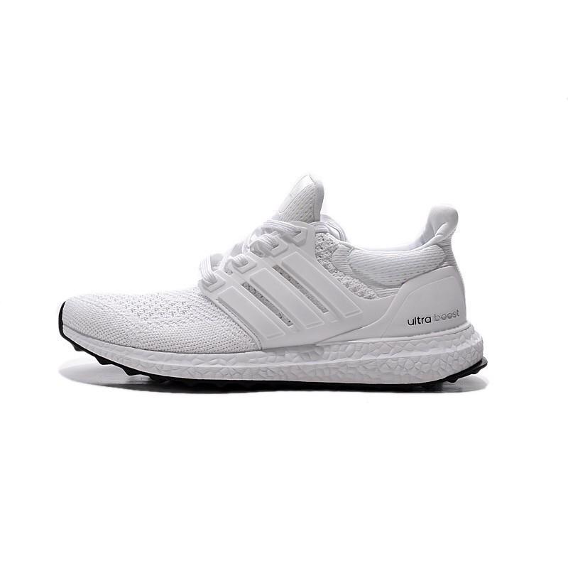 18e44cc379c9e Discount Adidas Ultra Boost Men s Women s black green Sport Running Shoes