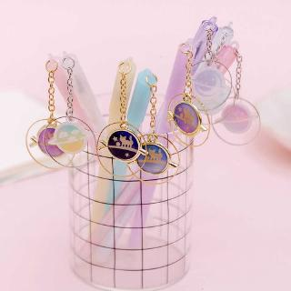 Lovely Ice Cream Pendants Candy Color Gel Pen Office School Stationery Gift.