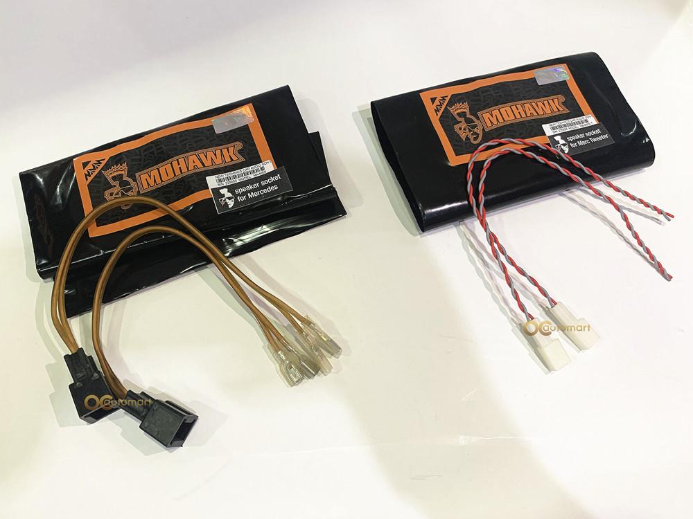MOHAWK Plug n Play Mercedes Benz Speaker Or Tweeter Wire Socket with Terminal Connector