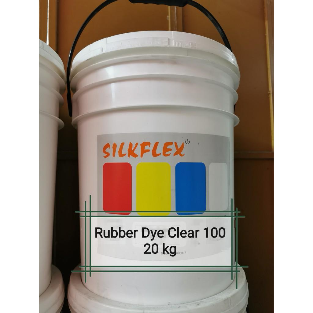 Silkflex 20kg Rubber Dye Clear 100 for Silkscreen Printing