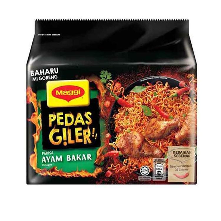 Maggi Pedas Giler Roasted Chicken 2(5x76g)