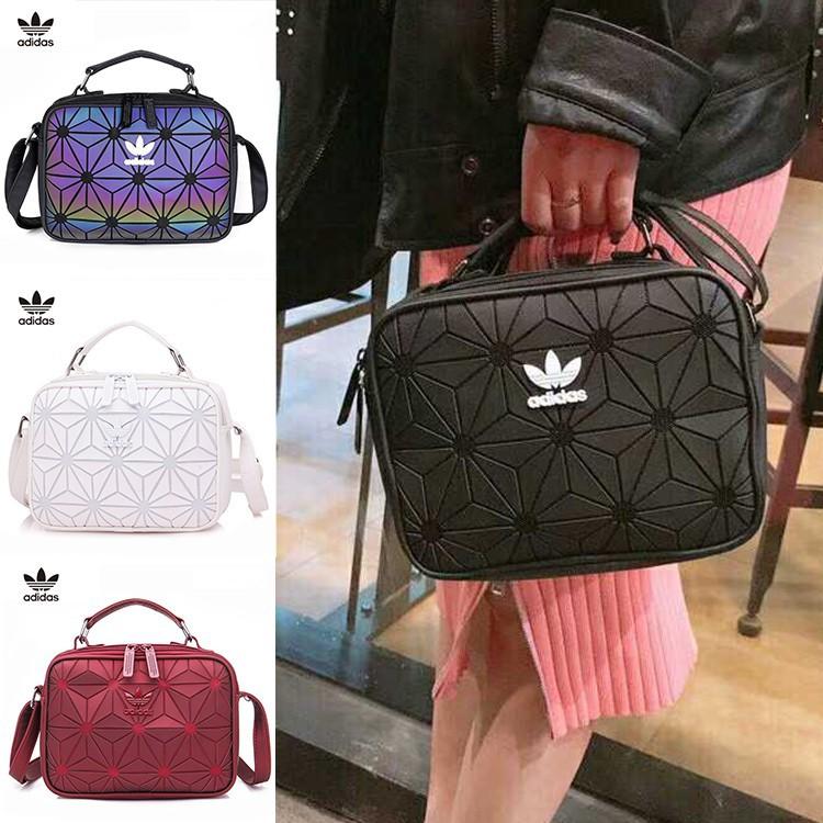 addf9648e51c Ready Stock 100% Original Adidas 3D Mesh Sling Bag x Issey Miyaki Size 24 18 7cm