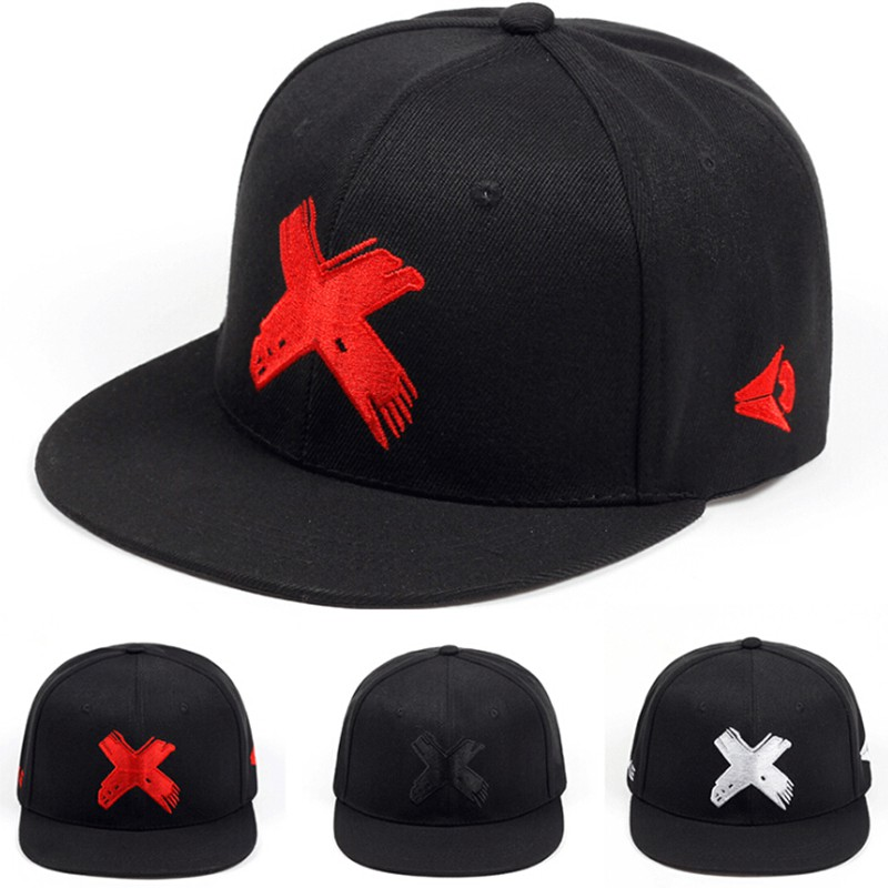 2bd00716373 Wuke Men Women Hip Hop Cap Material Punk Snapback Hats Fashion