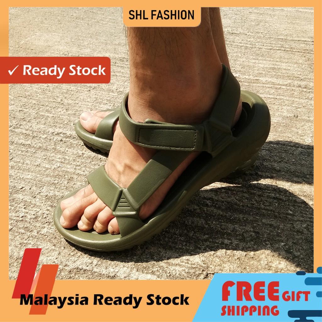 SHL Men EVA Kasut Lelaki Flat Sandal Selipar size 40-45