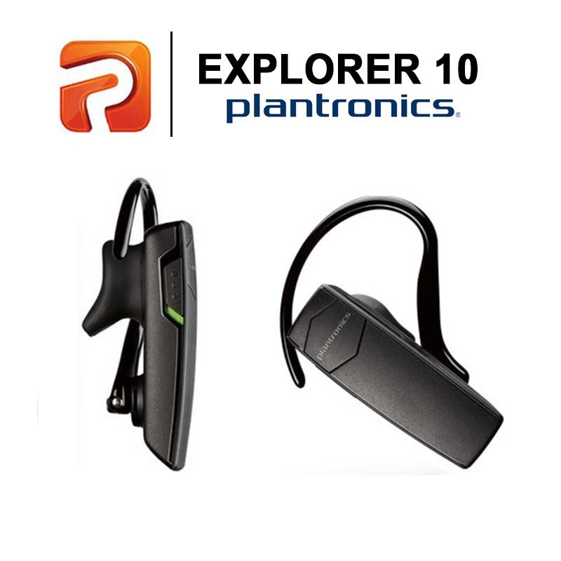 cef9bb9c00c Plantronics Explorer 10 Mobile Bluetooth Headset | Shopee Malaysia