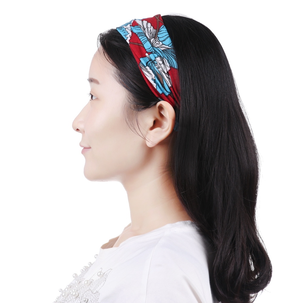 Headwear Sloth Sweatband Elastic Turban Sport Headband Outdoor Head Wrap