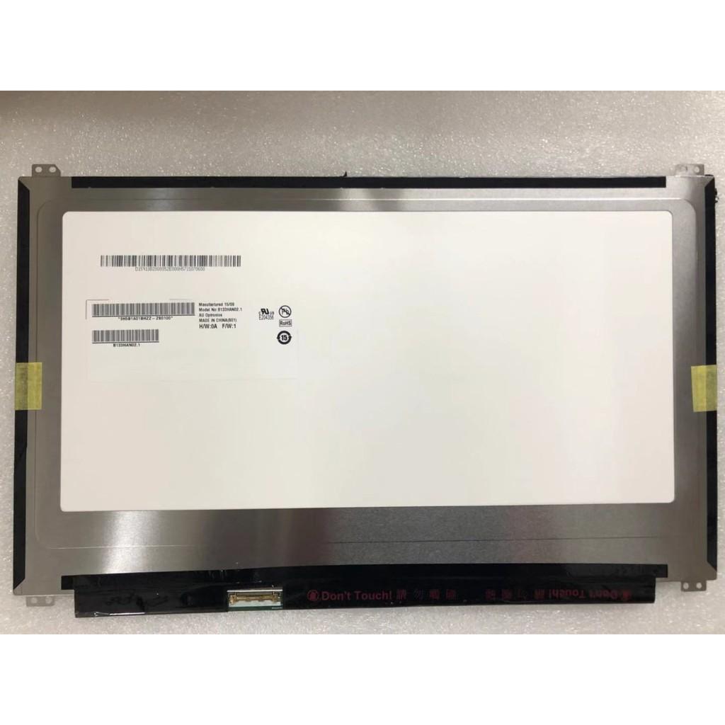 """B133HAN02.7 13.3/"""" Laptop Led Lcd Screen FHD 1920x1080 30-Pin//EDP"""