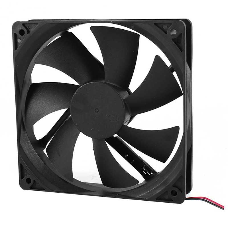 PC 120mm DC 12V 2Pin 120x120x25mm Computer Case Cooler Cooling Exhaust Fan 12cm