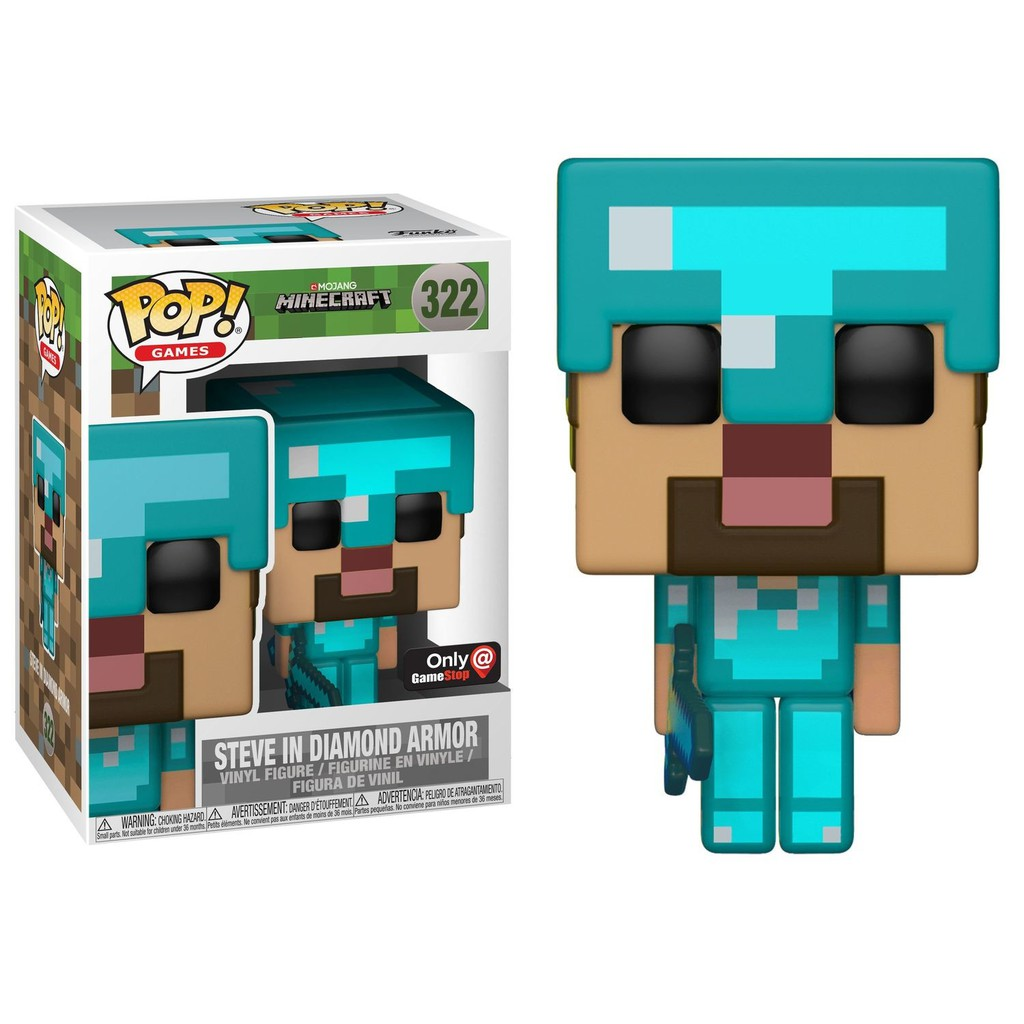 Funko Pop! Games 327  Minecraft - Charged Creeper (Exclusive ... 82809c0ce95