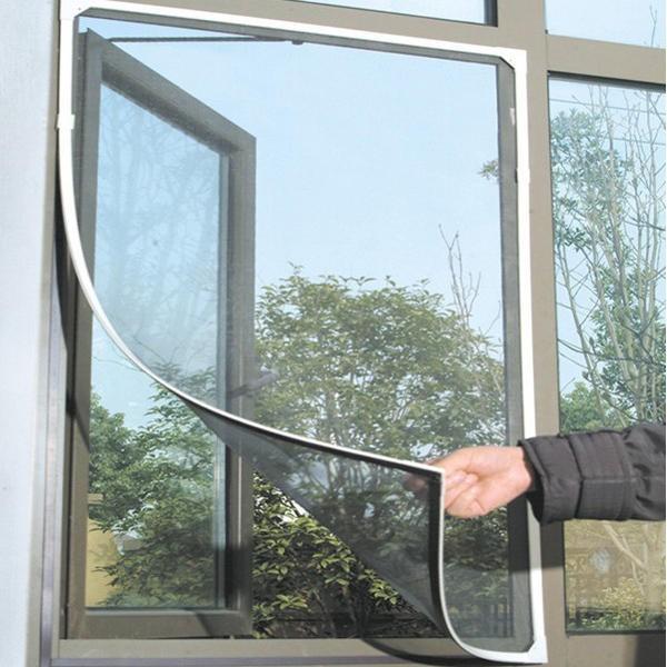 Honana WX-318 White Insect Mosquito Door Window Mesh Screen Sticky Nylon Tape Net Window Film