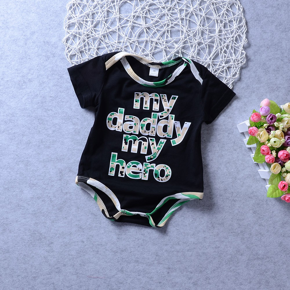 New Personalised Baby Vests Bodysuits for Boys Girls My Daddy is in The S.A.S