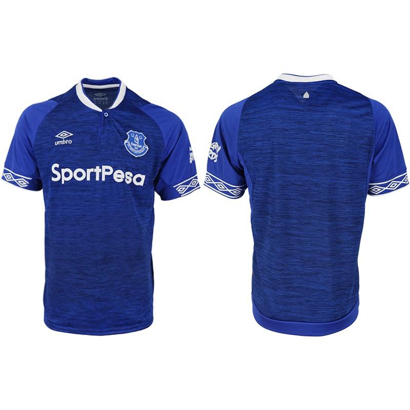 Everton Home Soccer Jerseys Football Jersey18/19