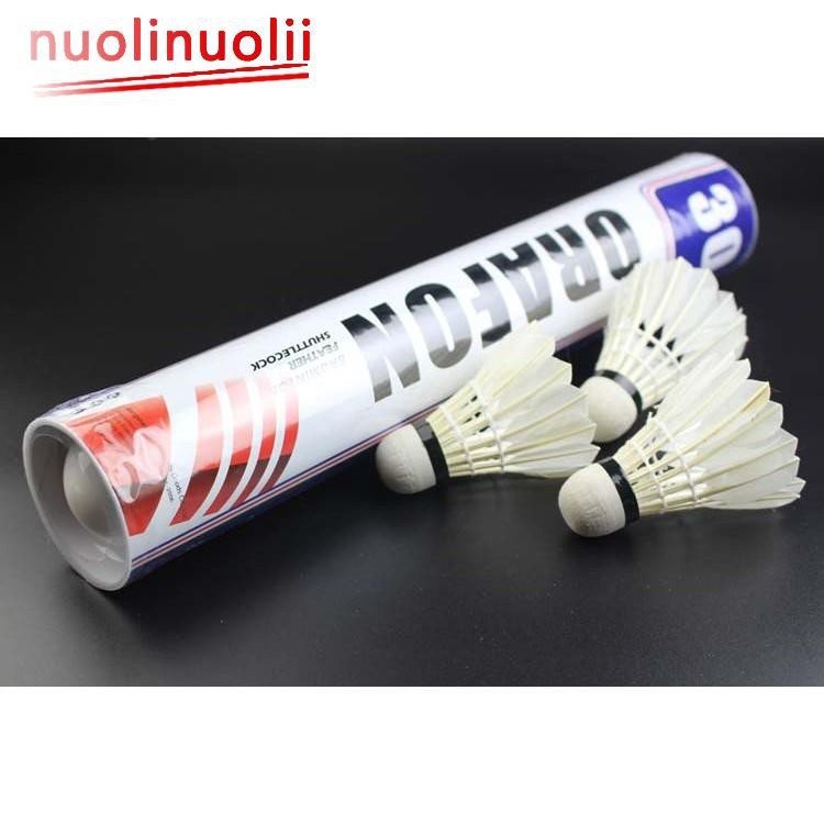 Aggressive 5pcs Game Sport Training White Duck Feather Shuttlecocks Birdies Badminton Ballj At All Costs Weitere Ballsportarten