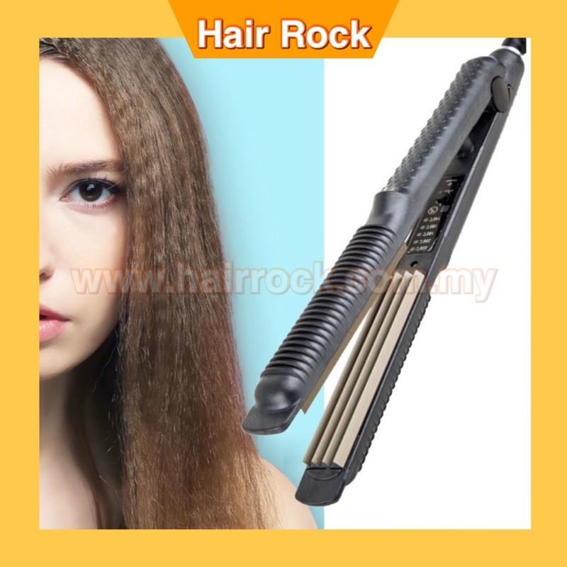 NEKPro Salon Use Quality Zig Zag Hair Crimper Iron