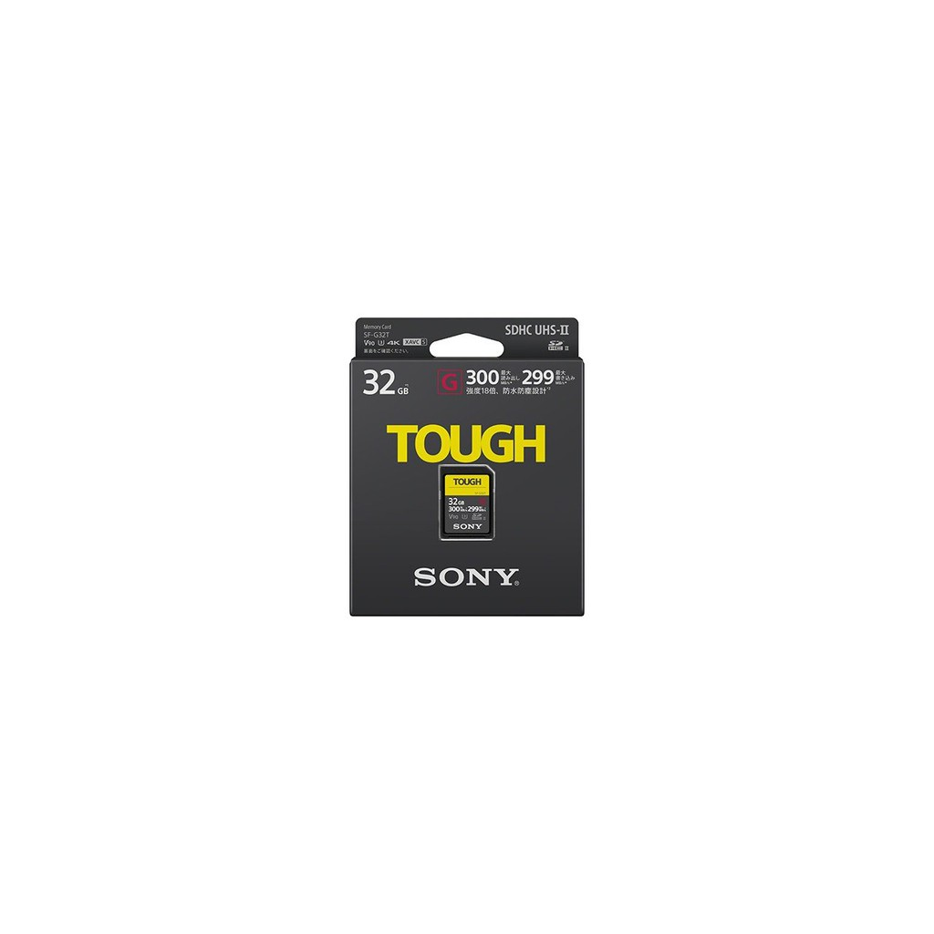 Sony SF-G 32GB TOUCH Series SDHC V90 Class 10 SD Card Read 300MB/s Memory Card