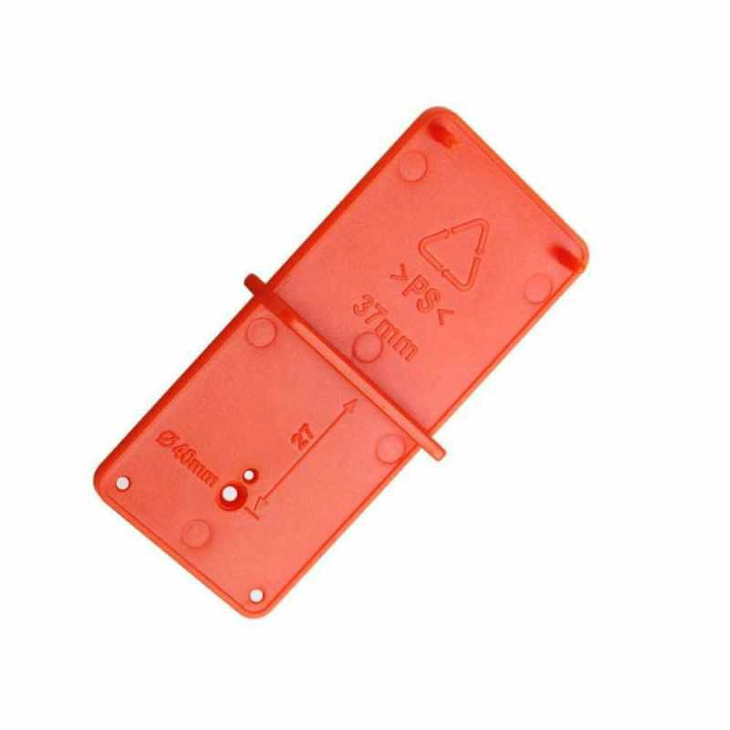 35mm 40mm Hinge Hole Drilling Guide Locator Hole Opener Template Door Cabinets Woodworking DIY Tool (Standard)