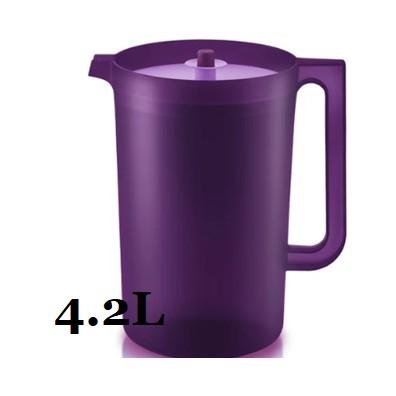 ❤APRIL 2021❤ Tupperware Purple Royale Giant Pitcher (1) 4.2L