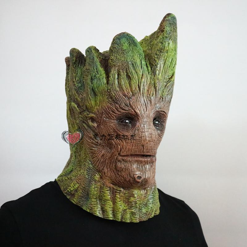 Galaxy Guard Little Tree Groot Little Raccoon Mask cosplay Halloween Mask  Adult