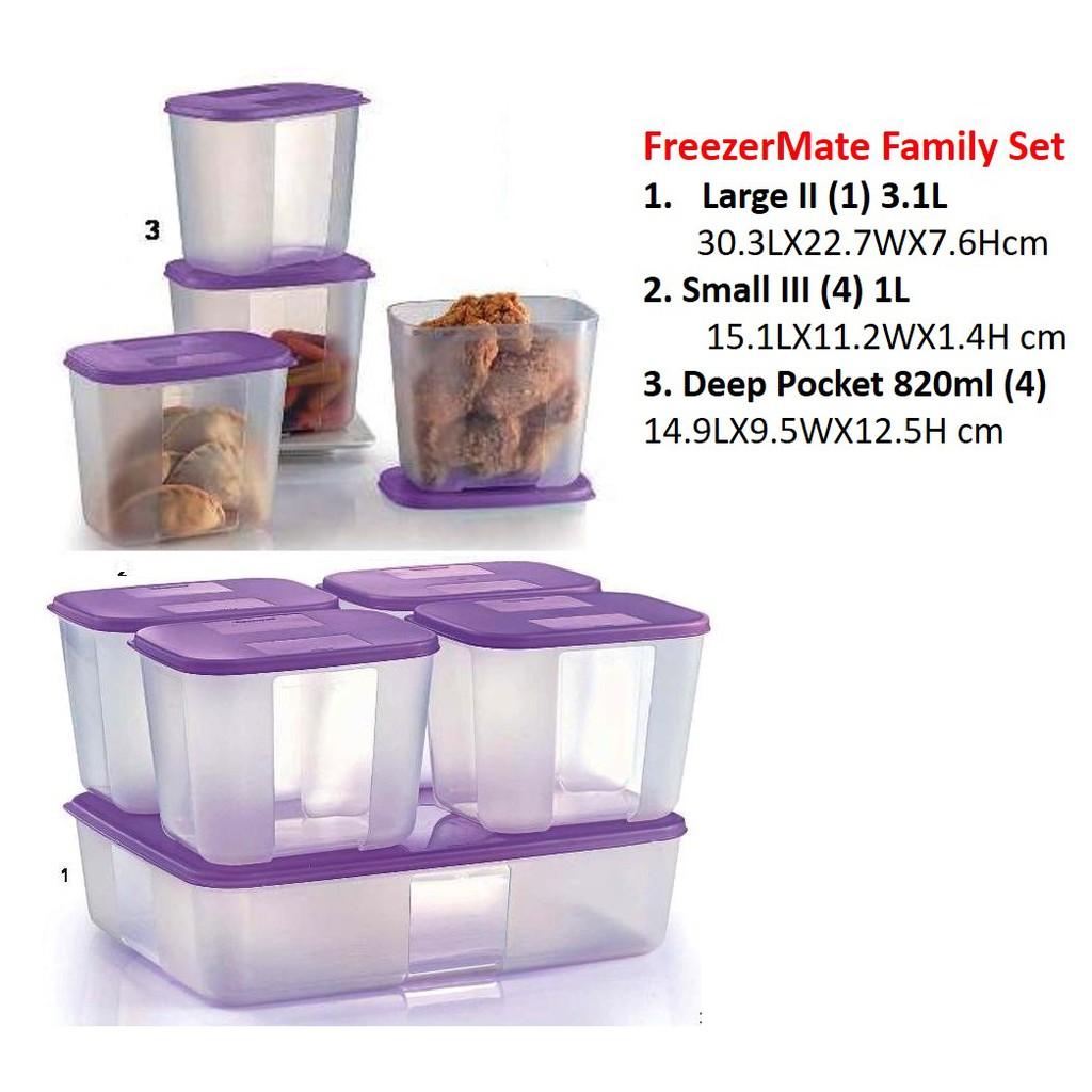 Tupperware Freezer Mate Family Set