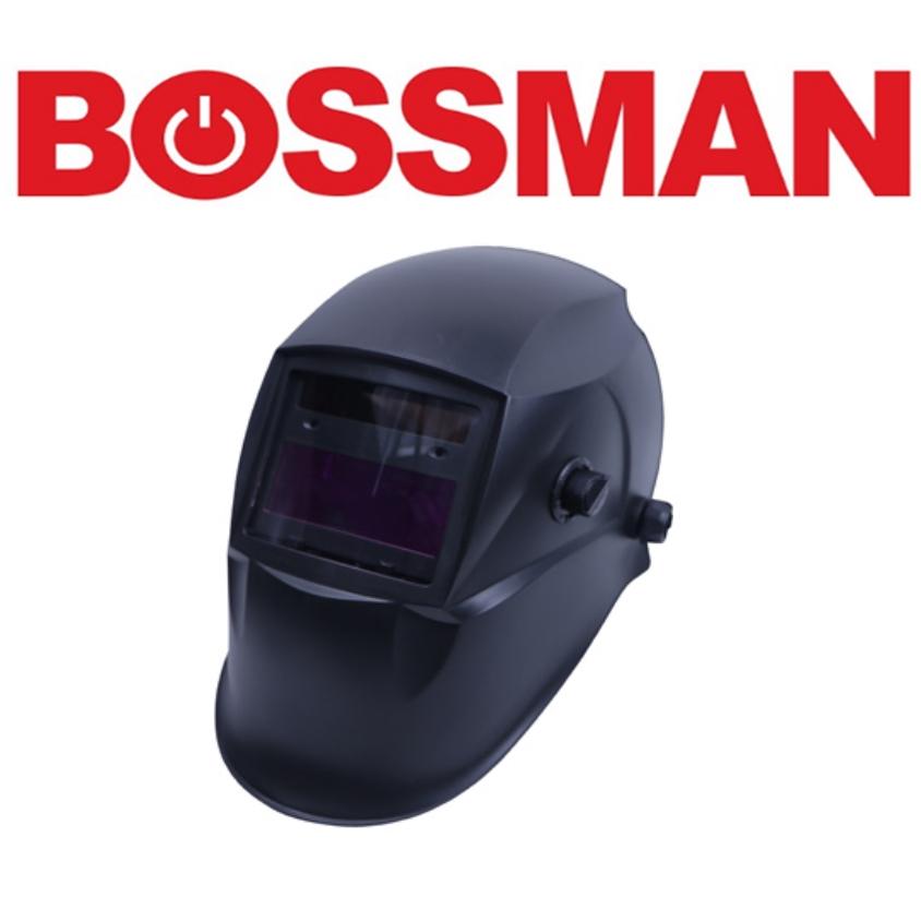 BOSSMAN BWH201H AUTO DARKENING WELDING HELMET HIGH GOOD QUALITY PROFESSIONAL SAFETY 3 MONTHS WARRANTY