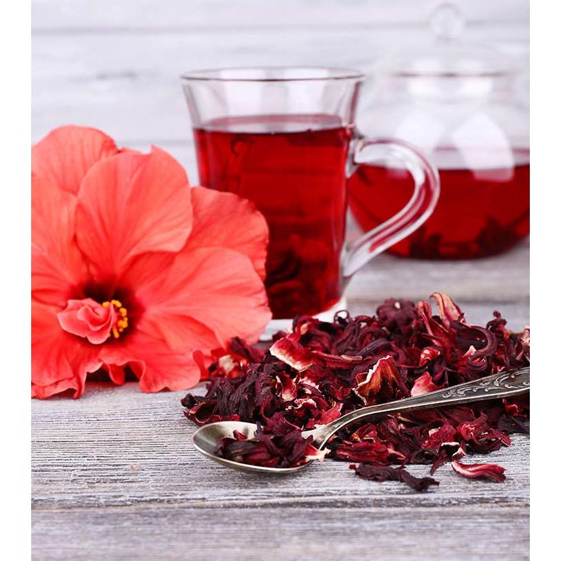 Roselle Flower Tea, Organic Dried Hibiscus Flower 100G/50G/30G