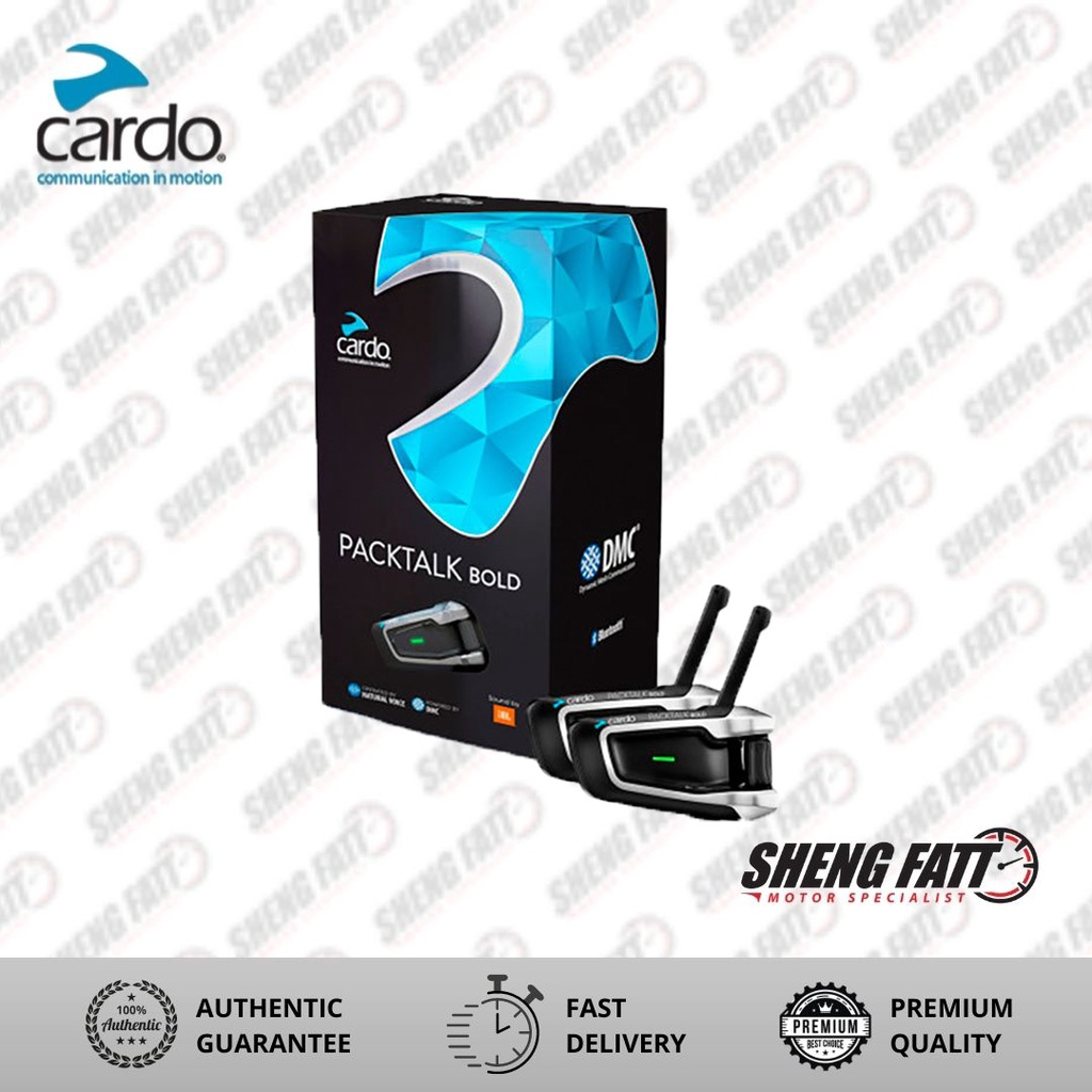 Cardo Packtalk Bold Duo Rider with JBL Communication System