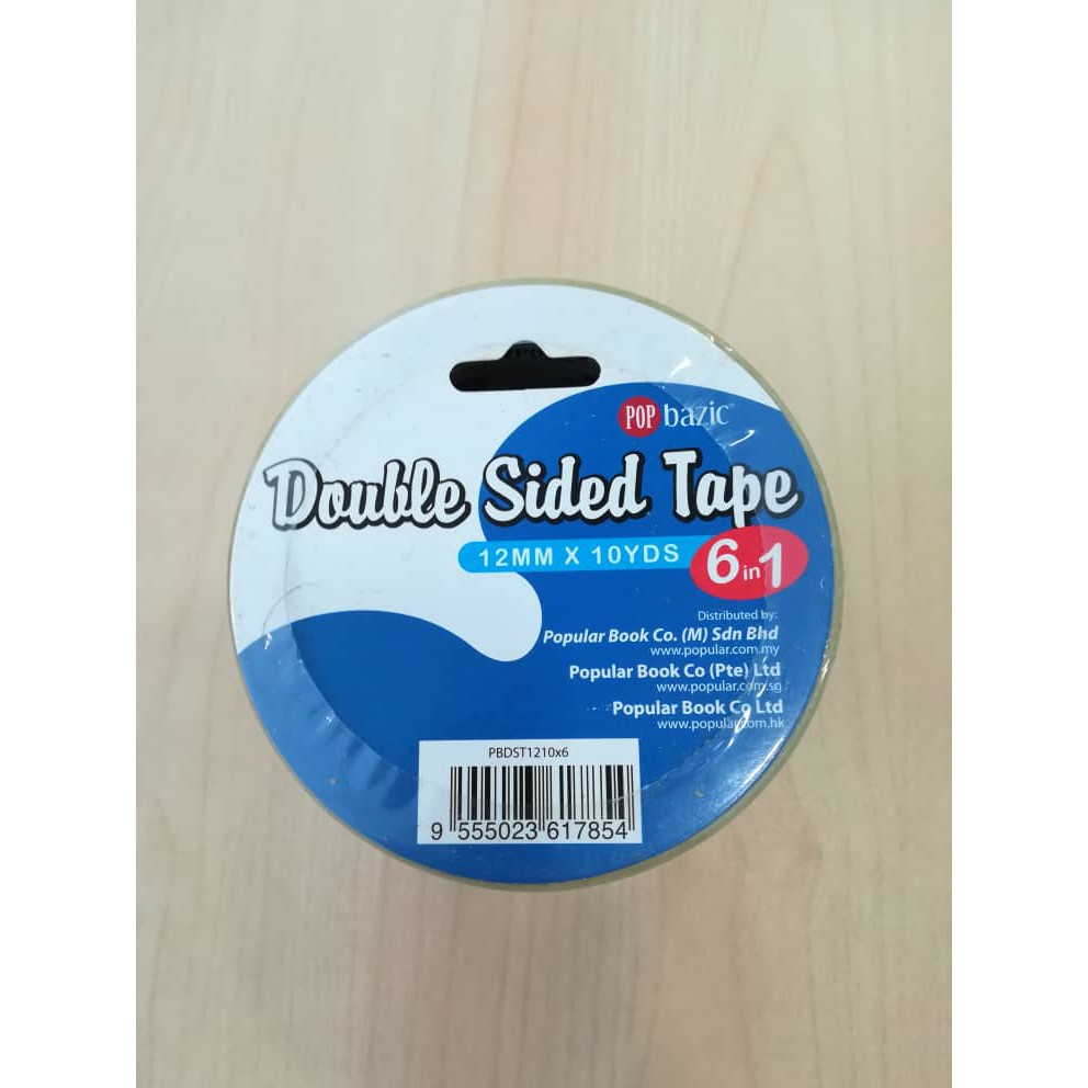 12mm 18mm 24mm Width 6mm 9mm Double Sided Tissue Tape 50m Long