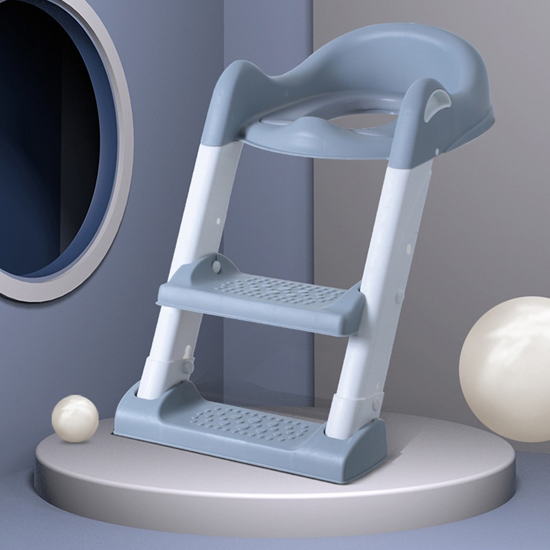 GDeal Kids Potty Baby Toddler Toilet Trainer Safety Seat With Adjustable Non Slip Stepladder