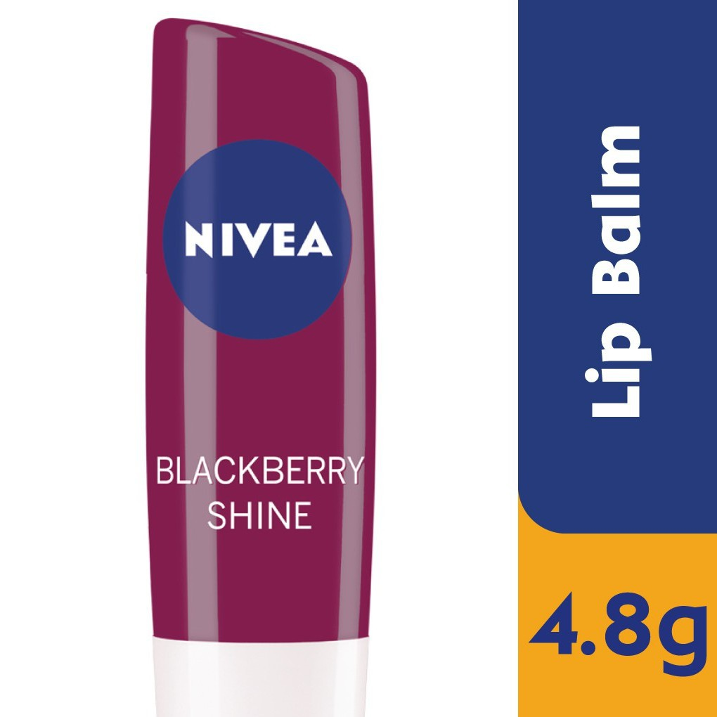 Nivea Lip Care Blackberry (4.8g)