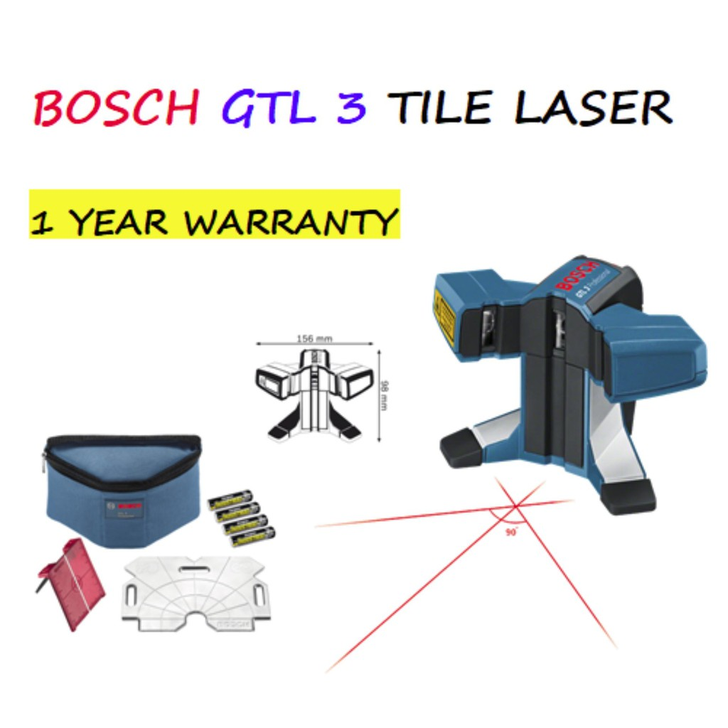 Bosch Gll 2 Line Laser Shopee Malaysia Lever Cross Level 5 50x Kit Tripod Bt150