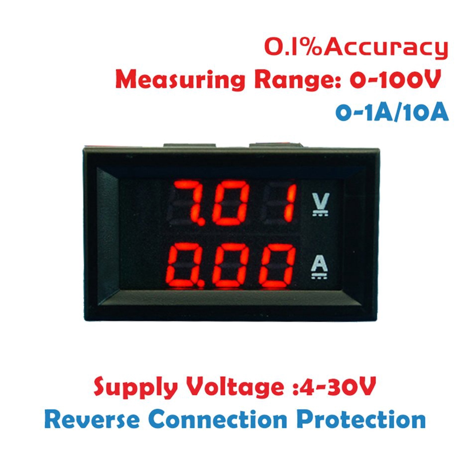 Volt Panel Meter Tester Power Supply Polarity Protection Circuit