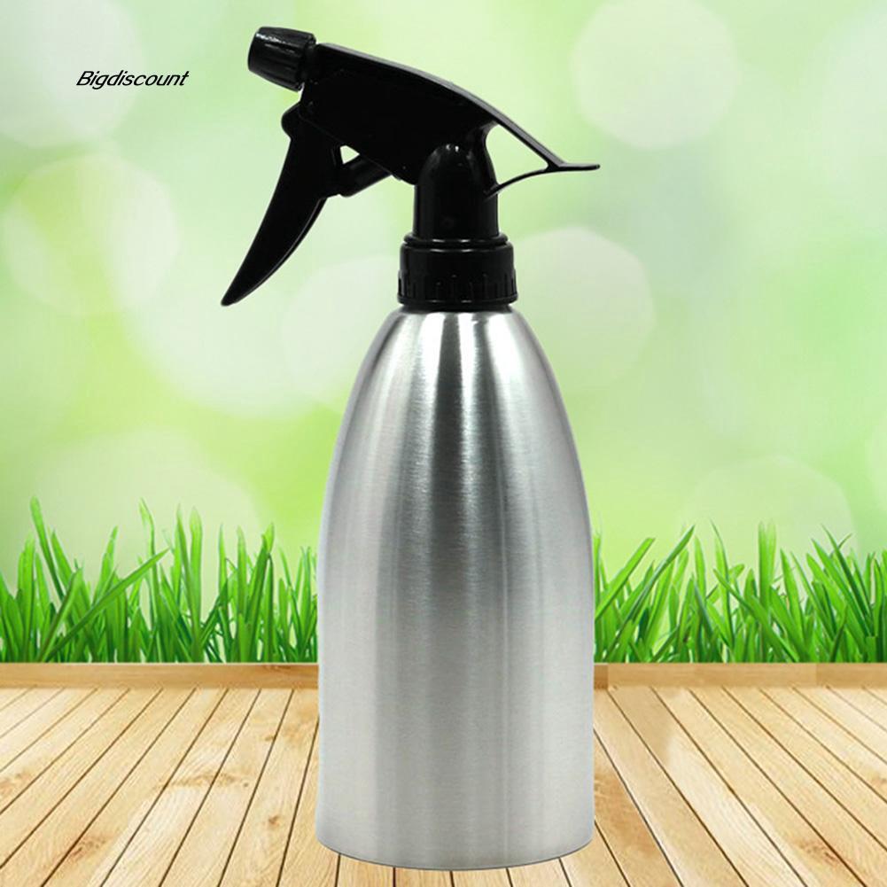 ca76b7bb3902 500ml Gardening Tool Stainless Steel Watering Can Plant Spray Bottle Mist  Kettle