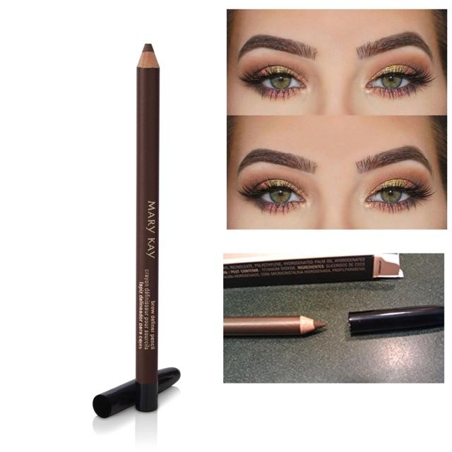 Mary Kay Eyebrow Definer Pencil Brunette Shopee Malaysia