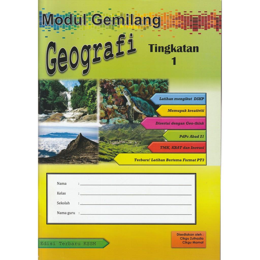 Modul Gemilang Geografi Shopee Malaysia