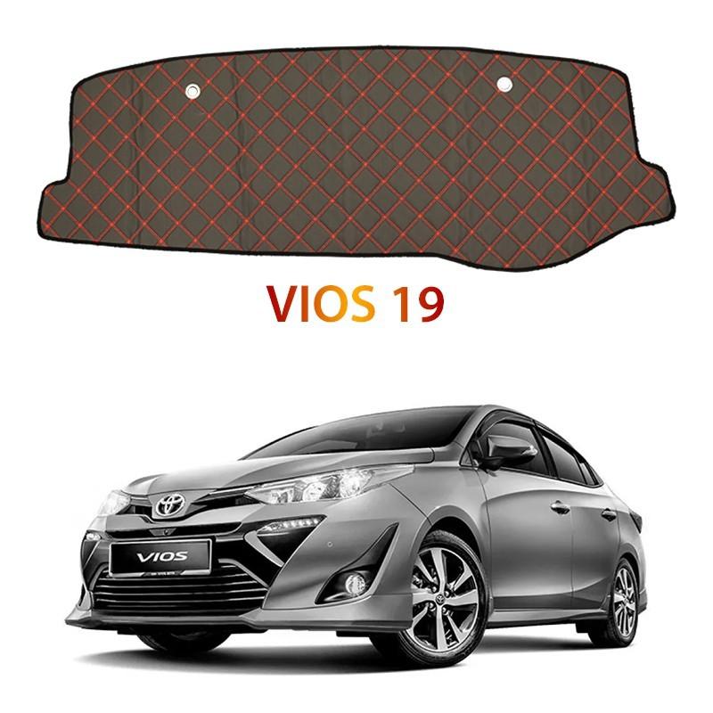 Toyota Vios 2019 DAD Non Slip Car Dashboard Cover