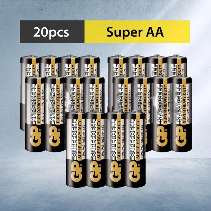 [ READY STOCK ]  1.5v AA/AAA GP Greencell Extra Heavy Duty Dry Battery 1.5v ( Non Rechargable Type ) Jualan Murah Led
