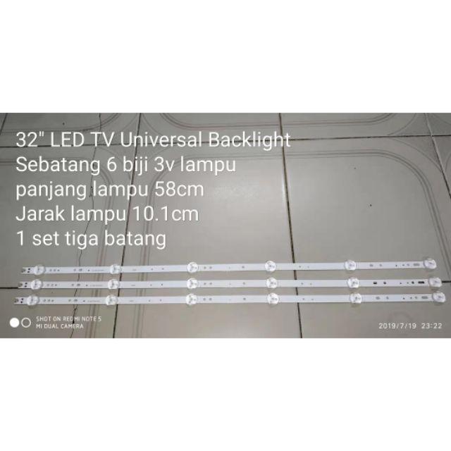 32 Inch Led TV 3V Universal Backlight
