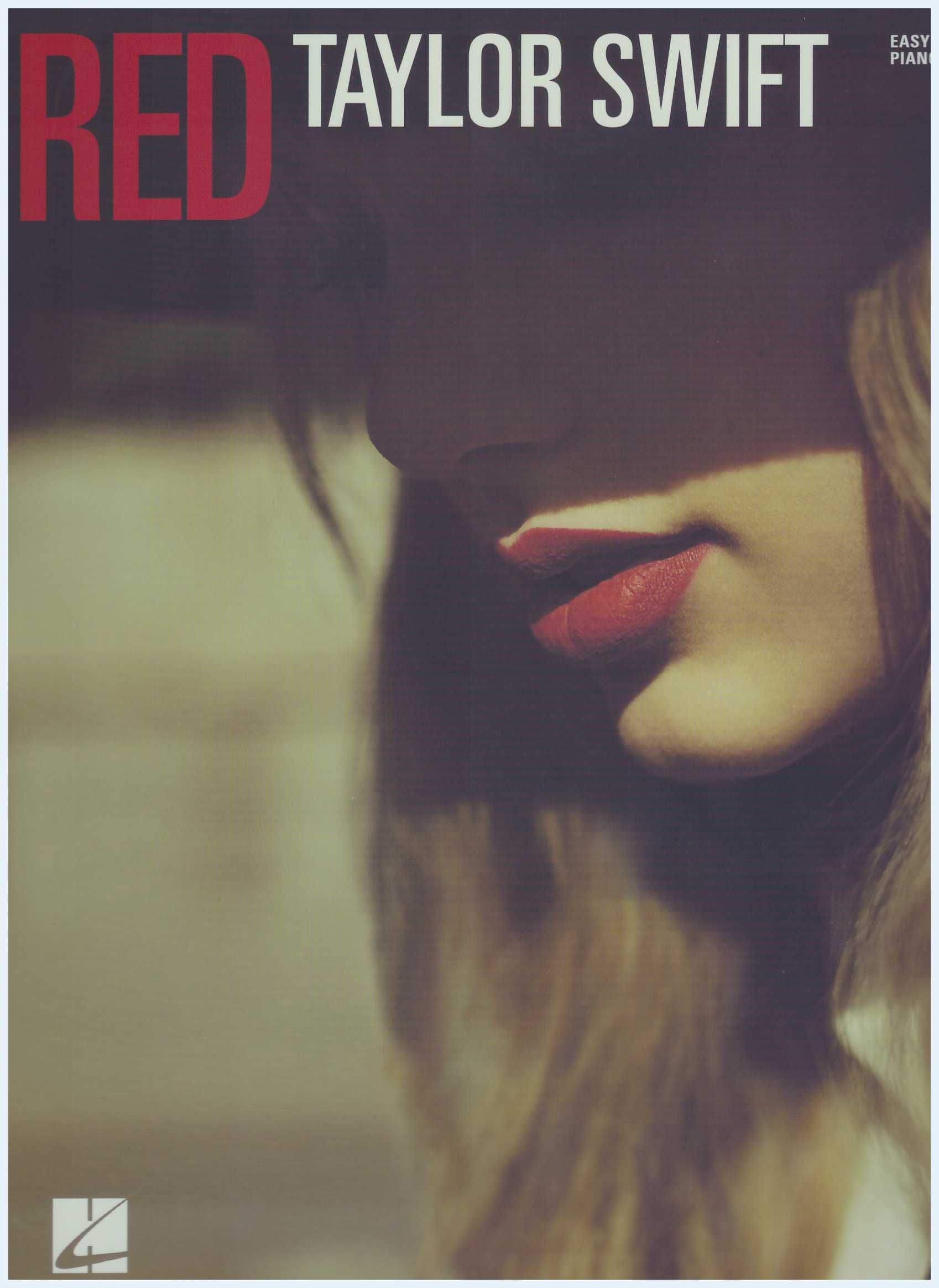 Taylor Swift Red / Easy Piano / PVG Book / Piano Book / Pop Song Book / Vocal Book / Voice Book