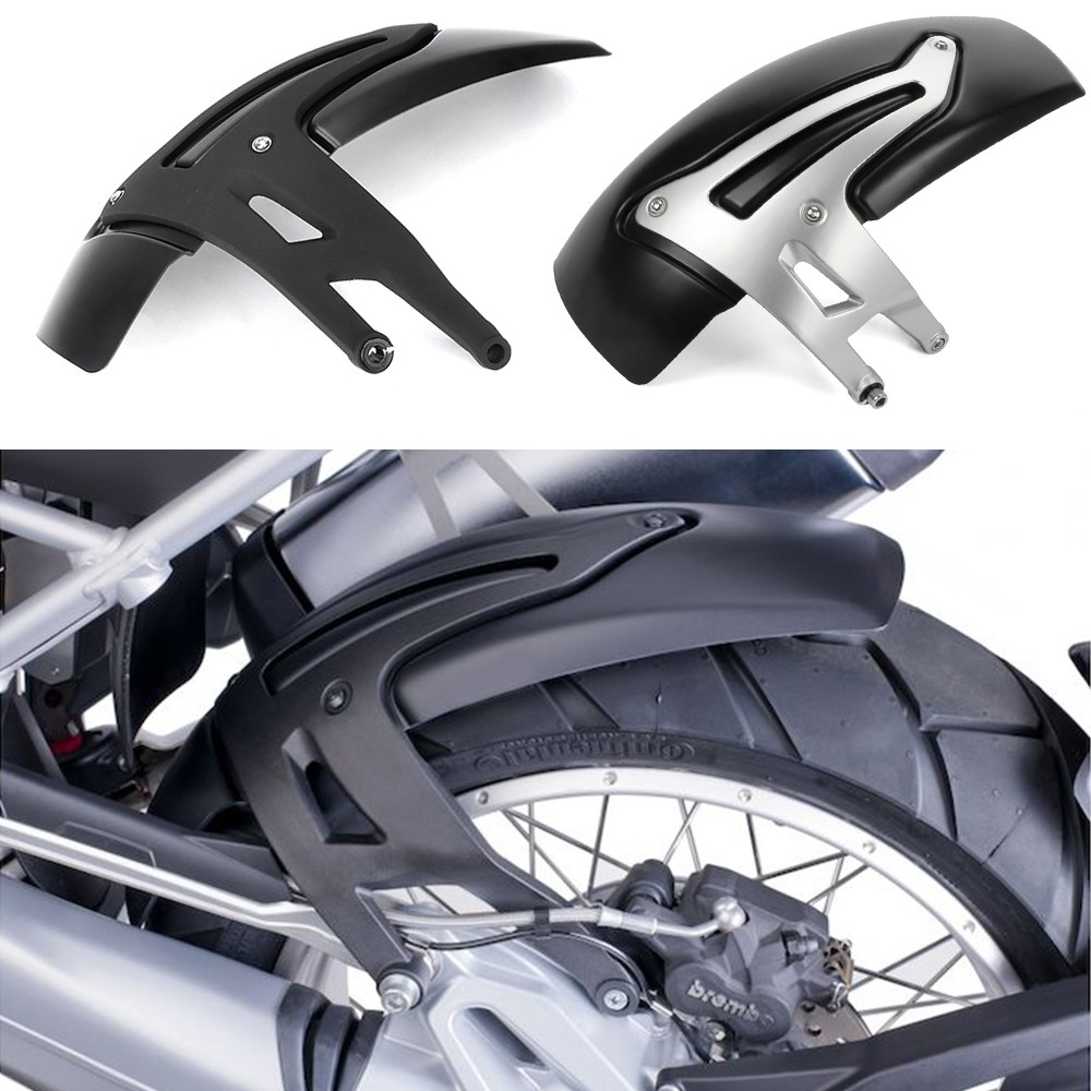 Wheel Mudguard,Motorcycle Rear Mudguard Mud Flap Guards Modification Accessory Fit for R1200GS 2013-2018