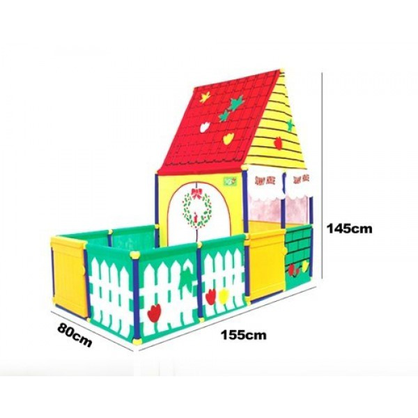 SUNNY HOUSE J6009 CHILDREN'S PLAYHOUSE PLAY TENT PLAYARD