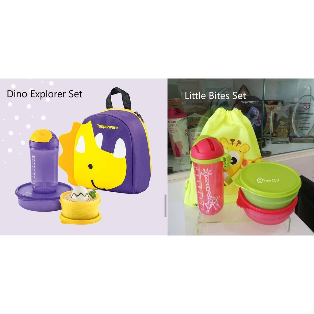 Tupperware Kids Lunch Set with Bag