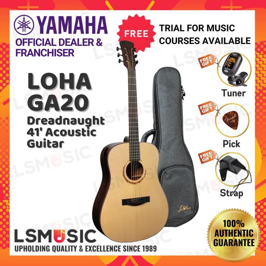 Loha Acoustic Guitar GA20