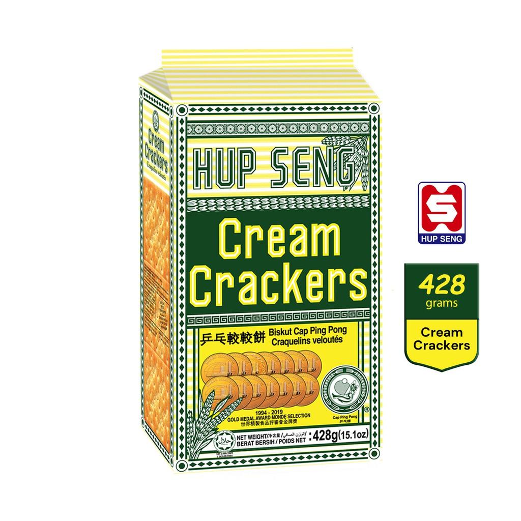 Hup Seng Ping Pong Cream Crackers Istimewa (428g)