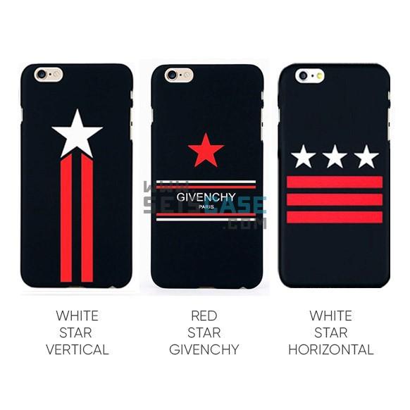 new product f4cda f6971 iPhone 5 5s SE 6 6s 7 Plus Case Givenchy Slim Hard Stylish Fashion Cover