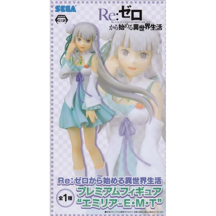 Re Zero Figure Figurine PVC 1//7scale Emilia AQUA VER.NEW IN BOX SEGA