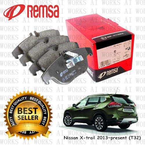 REMSA Nissan X-Trail 2013~present (T32) 650ºC Rear Brake Pad
