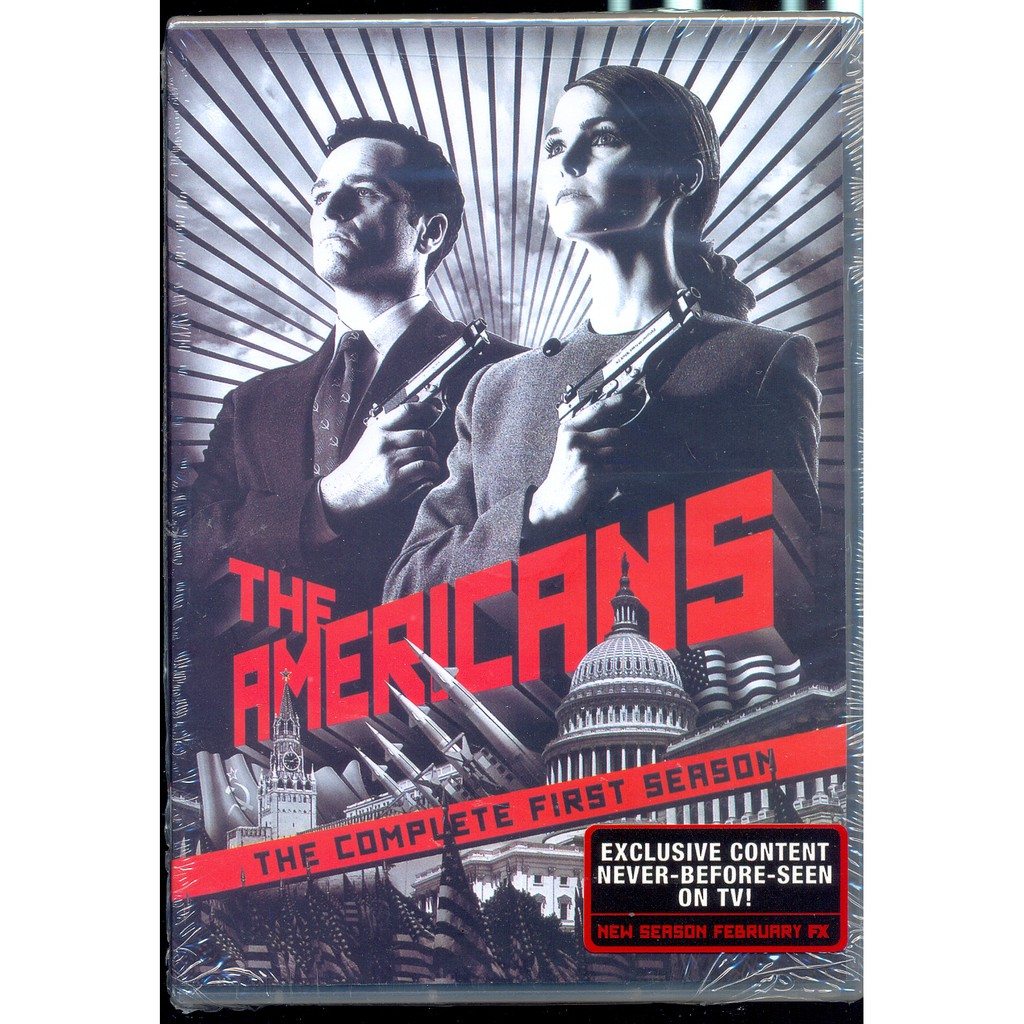 The Americans - The Complete First Season - New DVD